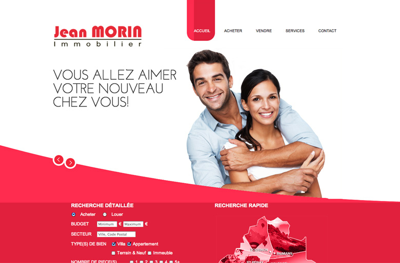MORINIMMOBILIER.FR